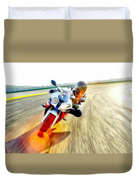 Sense Of Speed Duvet Cover