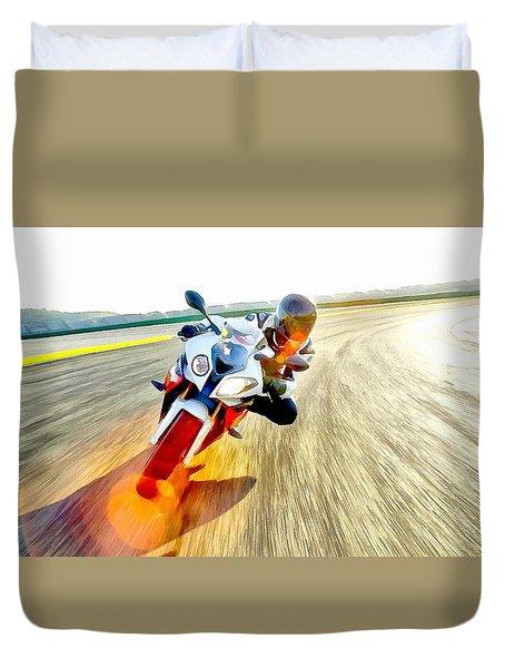Sense Of Speed Duvet Cover by Maciek Froncisz