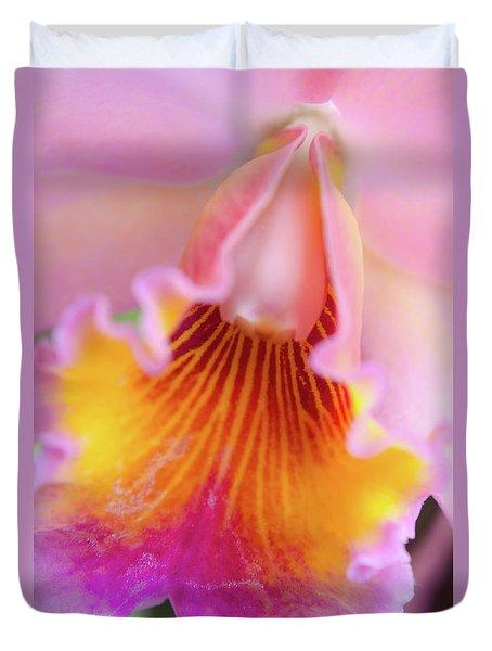 Sensual Floral Duvet Cover