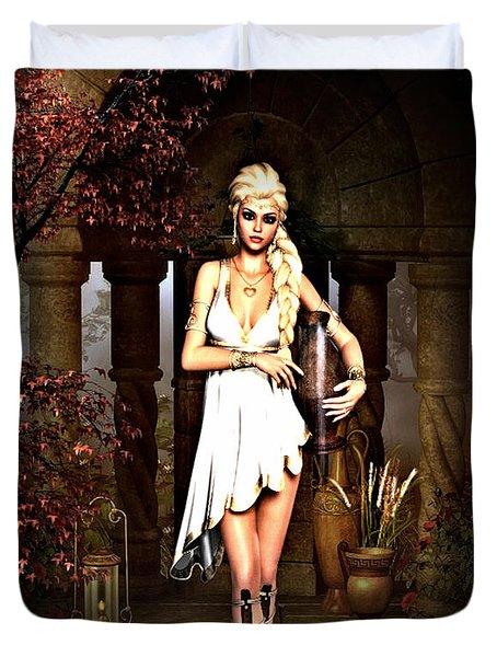 Sensual Grecian Duvet Cover