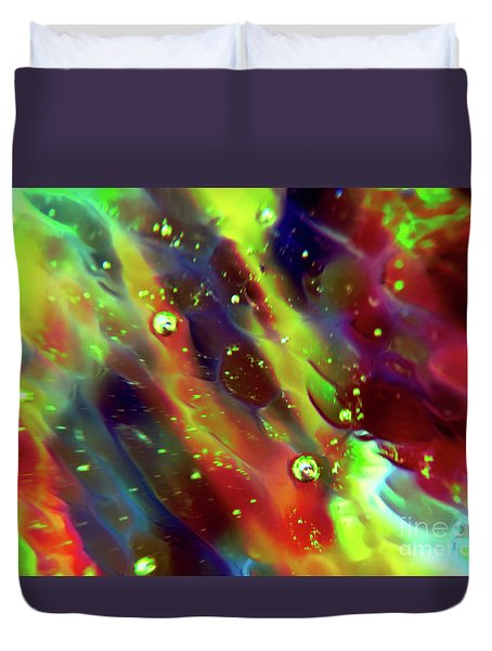 Sensual Illusion Duvet Cover by Todd Breitling