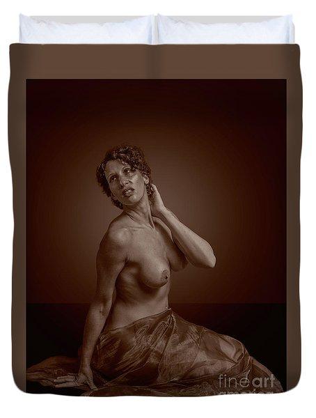 Sensual Nude Duvet Cover