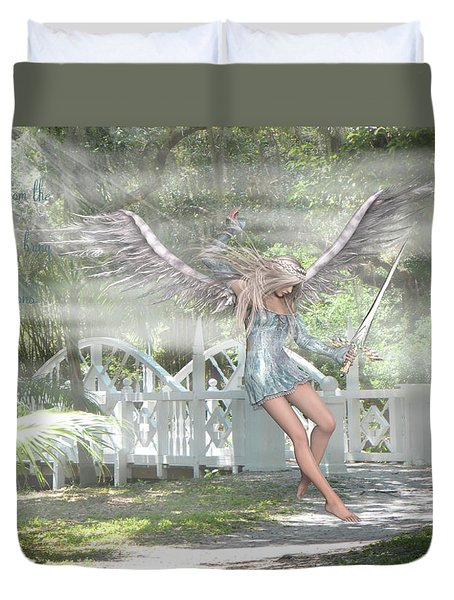Sent From Heaven Duvet Cover