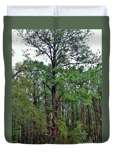 Sentinel Of The Forest Duvet Cover