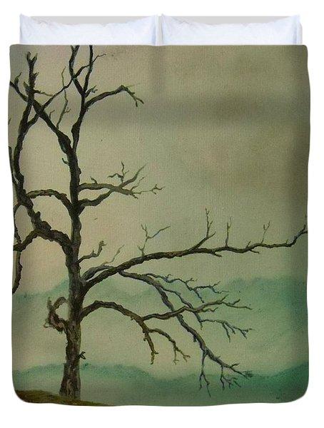 Sentinel Of The Shenandoah  Duvet Cover