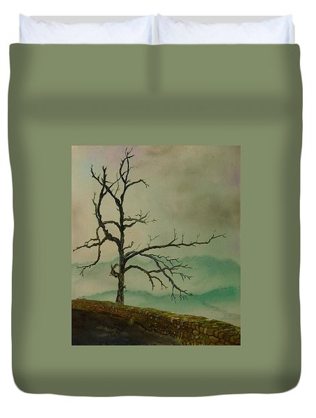 Sentinel Of The Shenandoah  Duvet Cover