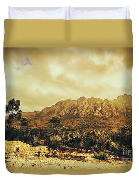 Sentinel Range Tasmania Duvet Cover