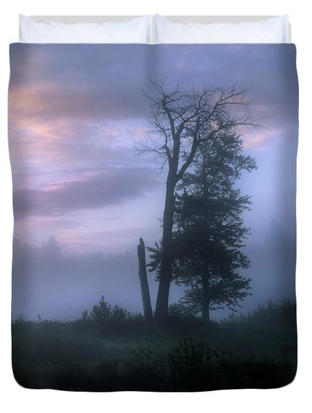 Sentinels In The Valley Duvet Cover