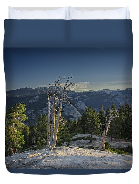 Sentinel's Summit Duvet Cover by Rick Berk