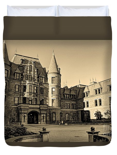 Sepia High Duvet Cover by Chris Anderson