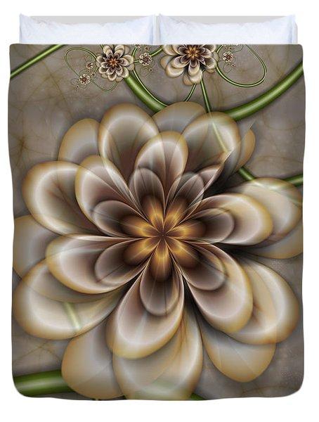 Sepia In Nature Duvet Cover