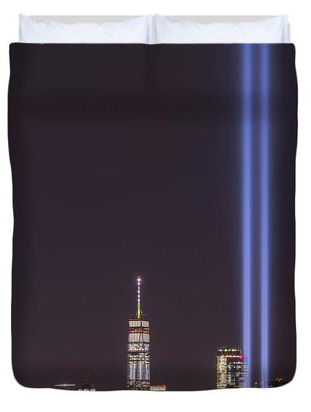 September 11th Memorial  Duvet Cover