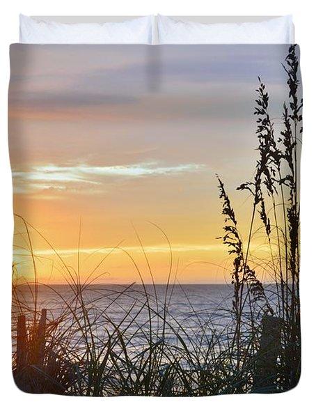 September 27th Obx Sunrise Duvet Cover