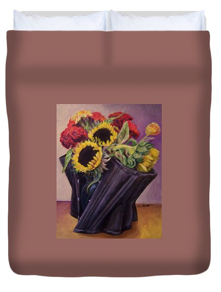 September Cincher Duvet Cover