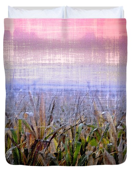September Cornfield Duvet Cover by Bill Cannon