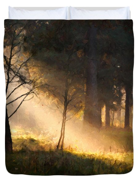 September Impressions Duvet Cover