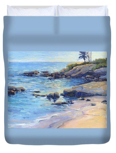 September Light / Laguna Beach Duvet Cover