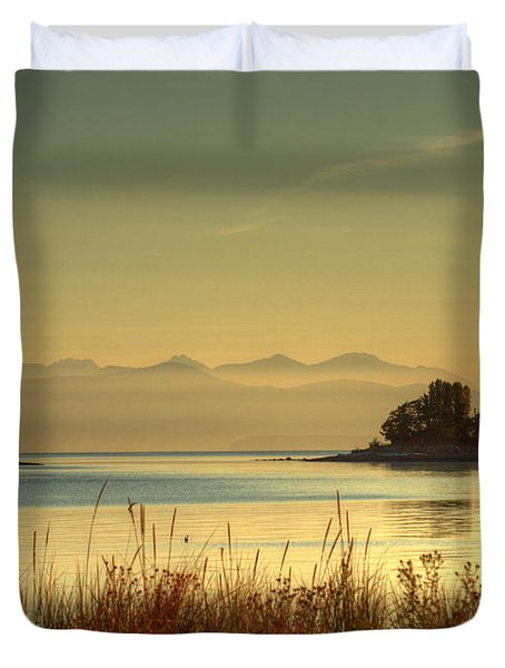 September Morn Duvet Cover