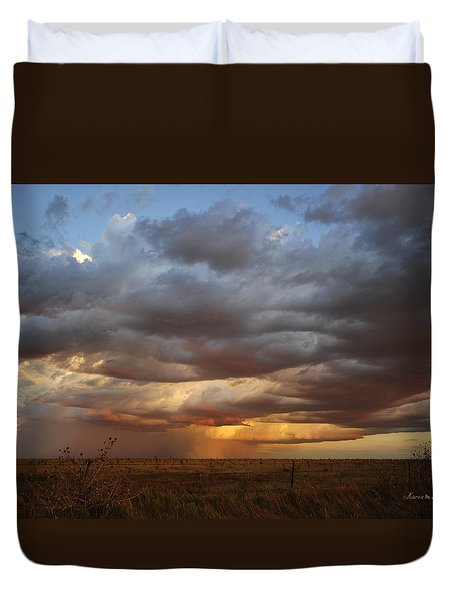 September Rain Duvet Cover