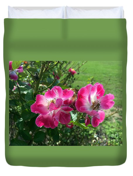 September Rose Duvet Cover