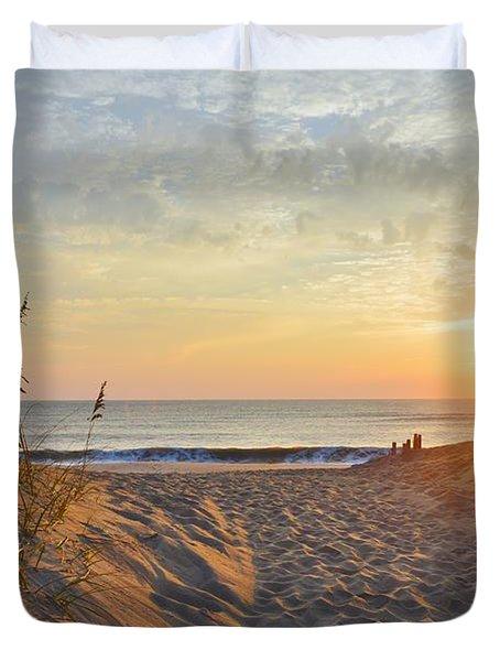 September Sunrise Duvet Cover
