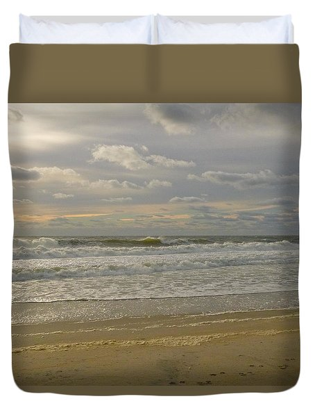 September Sunrise Duvet Cover
