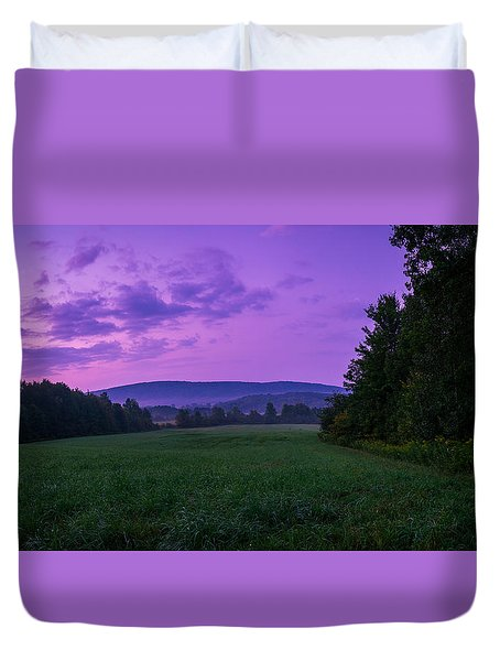 September Twilight Duvet Cover
