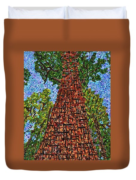 Sequoia National Park Duvet Cover by Micah Mullen