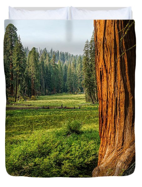 Sequoia Np Crescent Meadows Duvet Cover