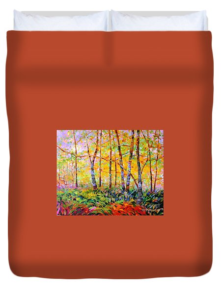 Serenade Of Forest Duvet Cover