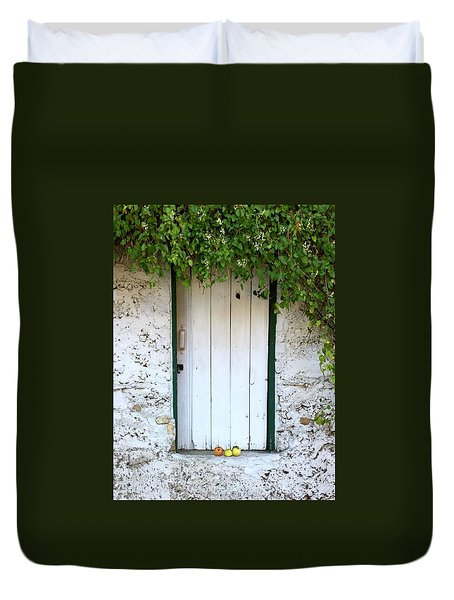 Serendipitous Door Duvet Cover