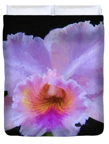 Serendipity Orchid Duvet Cover