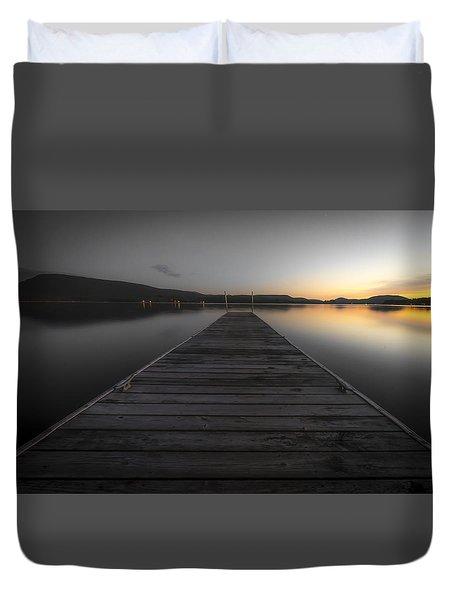 Serene Lake 2 Duvet Cover