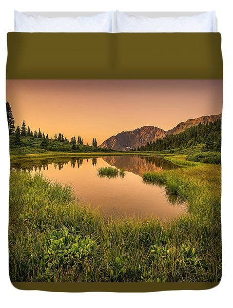 Serene Lake Duvet Cover