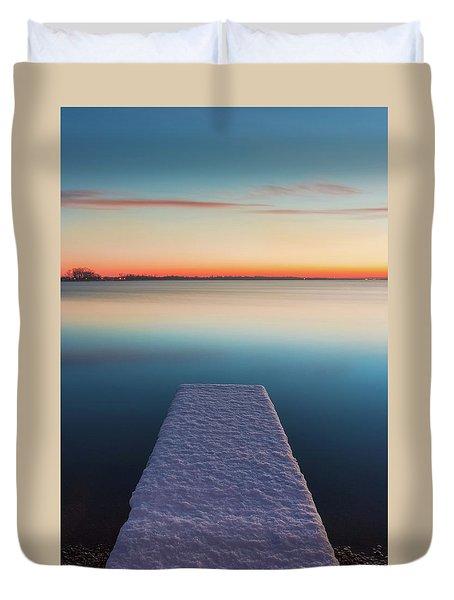 Serene Morning Duvet Cover