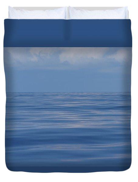 Serene Pacific Duvet Cover
