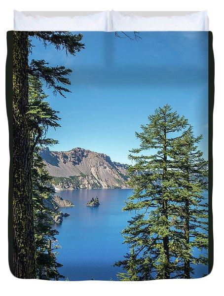 Serene Pines Duvet Cover