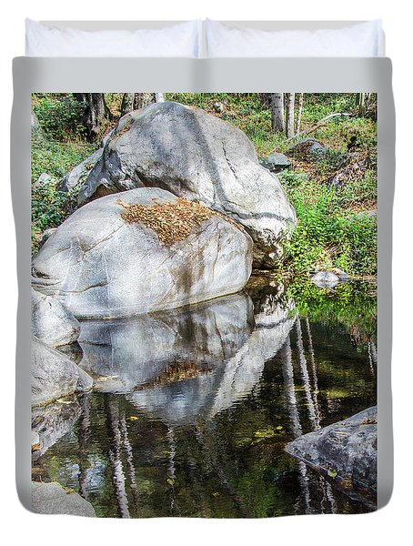 Serene Reflections Duvet Cover