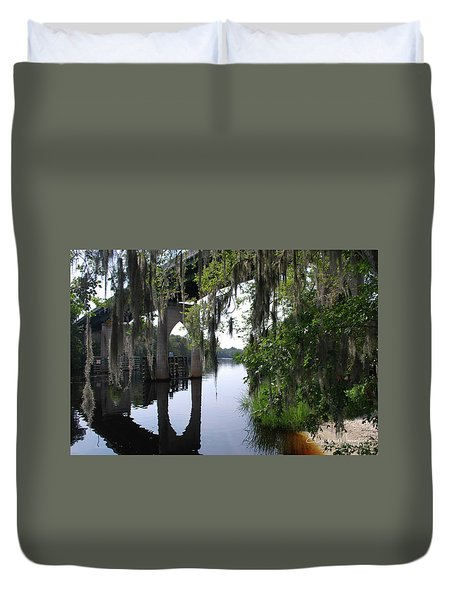 Serene River Duvet Cover