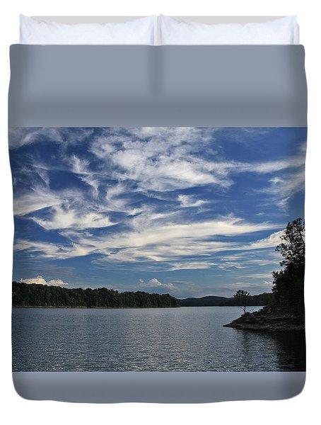 Serene Skies Duvet Cover