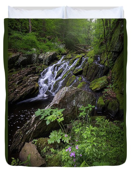 Duvet Cover featuring the photograph Serene Solitude by Bill Wakeley