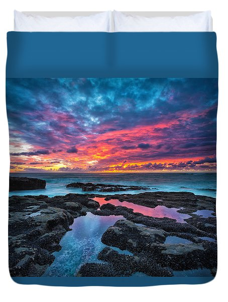 Serene Sunset Duvet Cover