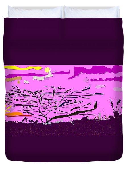 Serengeti  Duvet Cover by Angela A Stanton