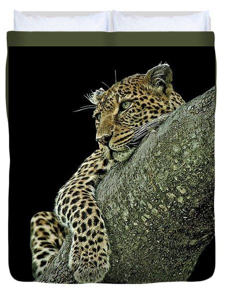 Serengeti Leopard 2a Duvet Cover