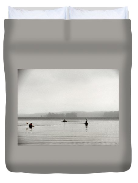 Serenity 3 Duvet Cover by Dana Patterson