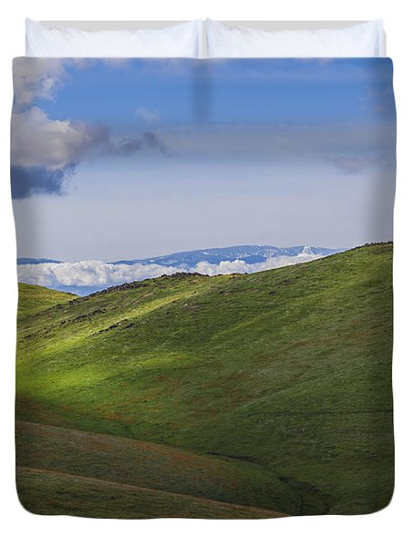 Serenity And Peace Duvet Cover