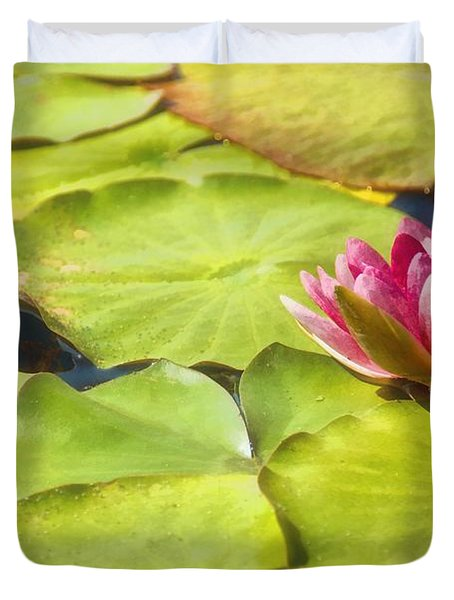 Serenity And Solitude Duvet Cover