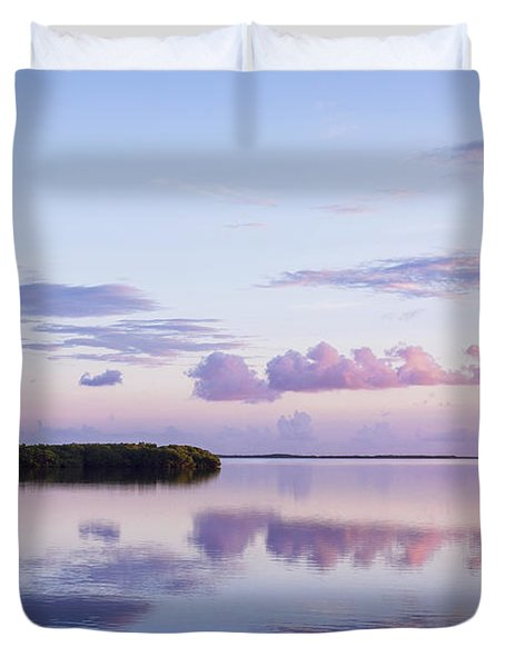 Serenity At Sunrise Duvet Cover