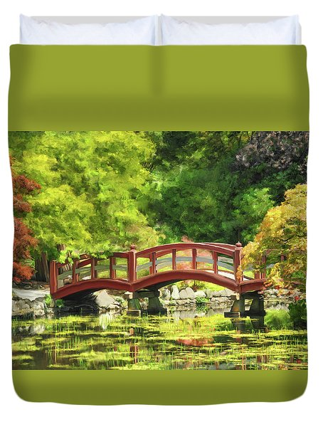 Serenity Bridge II Duvet Cover