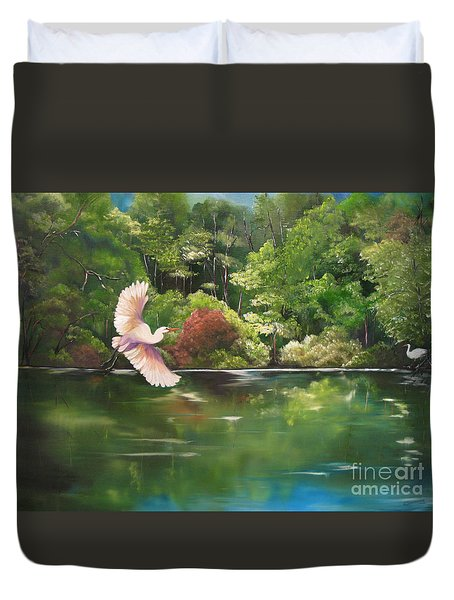 Serenity Duvet Cover by Carol Sweetwood